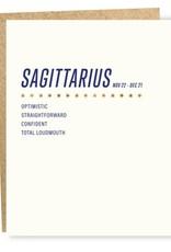 Sapling Press Sagittarius Card
