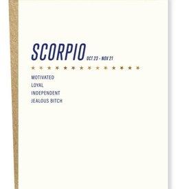 Sap-P Scorpio Card
