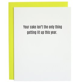 Chez Gagne Your Cake Isn't The Only Card