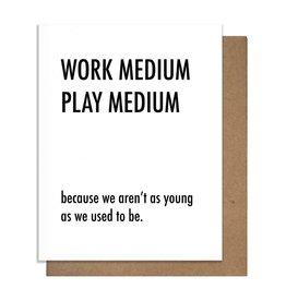 The Matt Butler Work Medium Play Medium Card