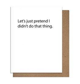 TMa-Btlr Let's Just Pretend Card