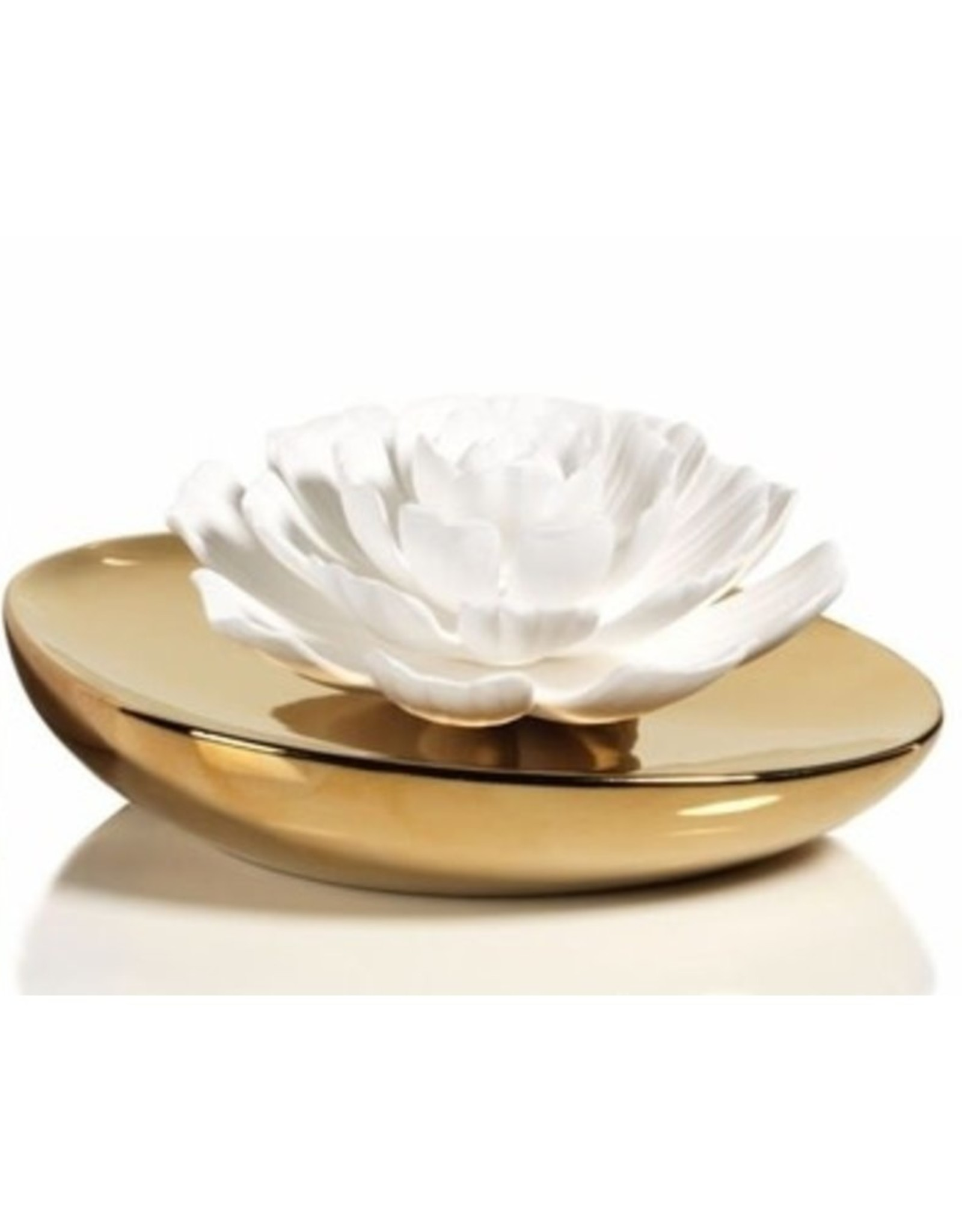 Zodax Dream Porcelain Flower Diffuser-Moroccan Peony