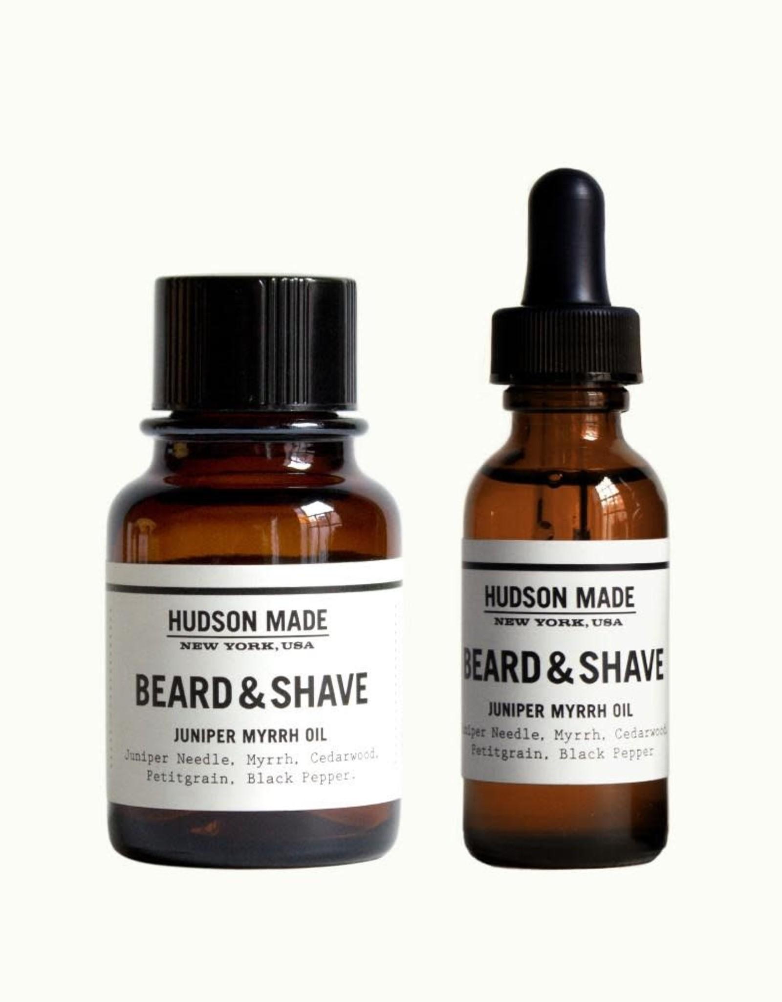 Hudson Made Inc. Juniper Myrrh Oil
