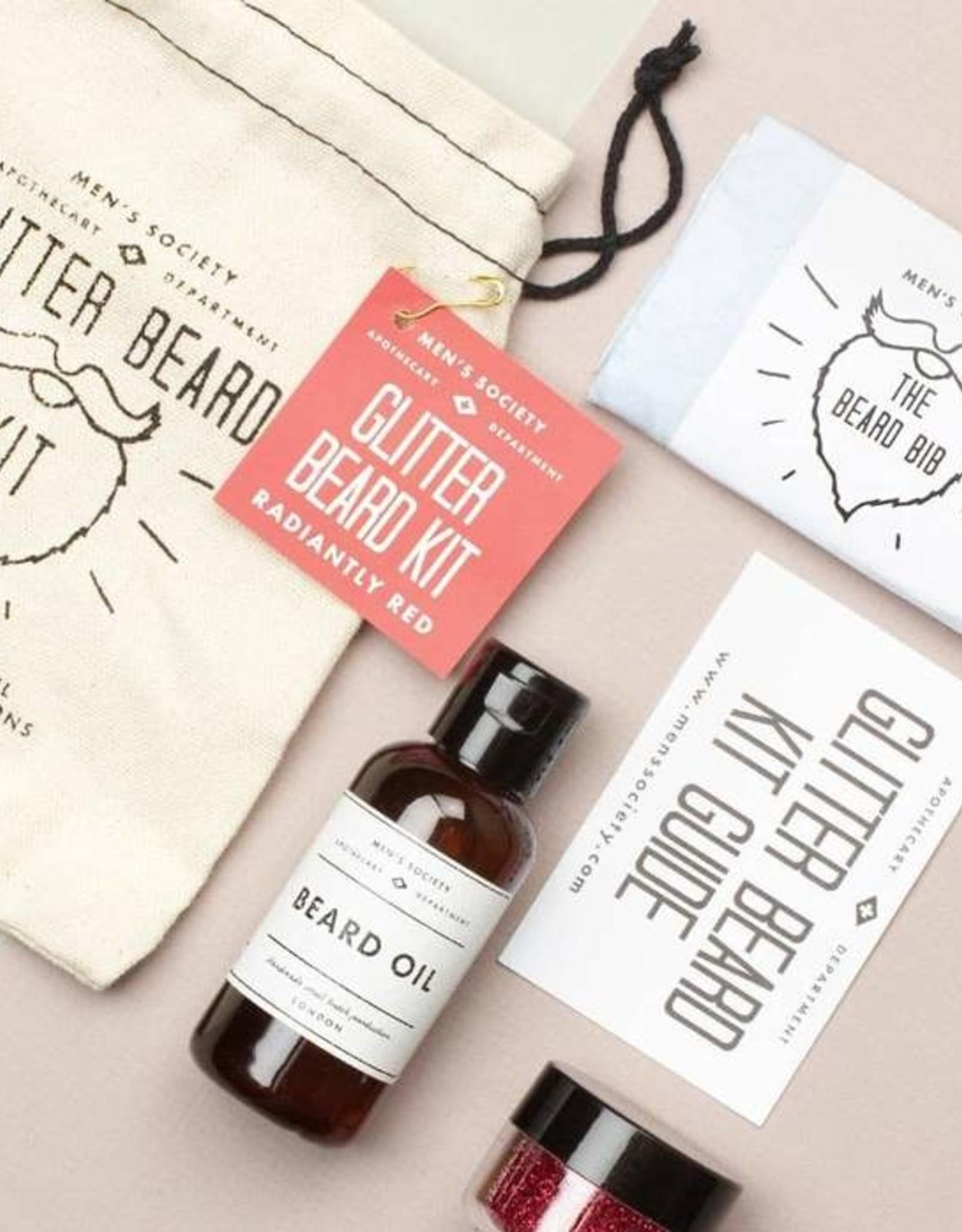 Men's Society Glitter Beard Kit