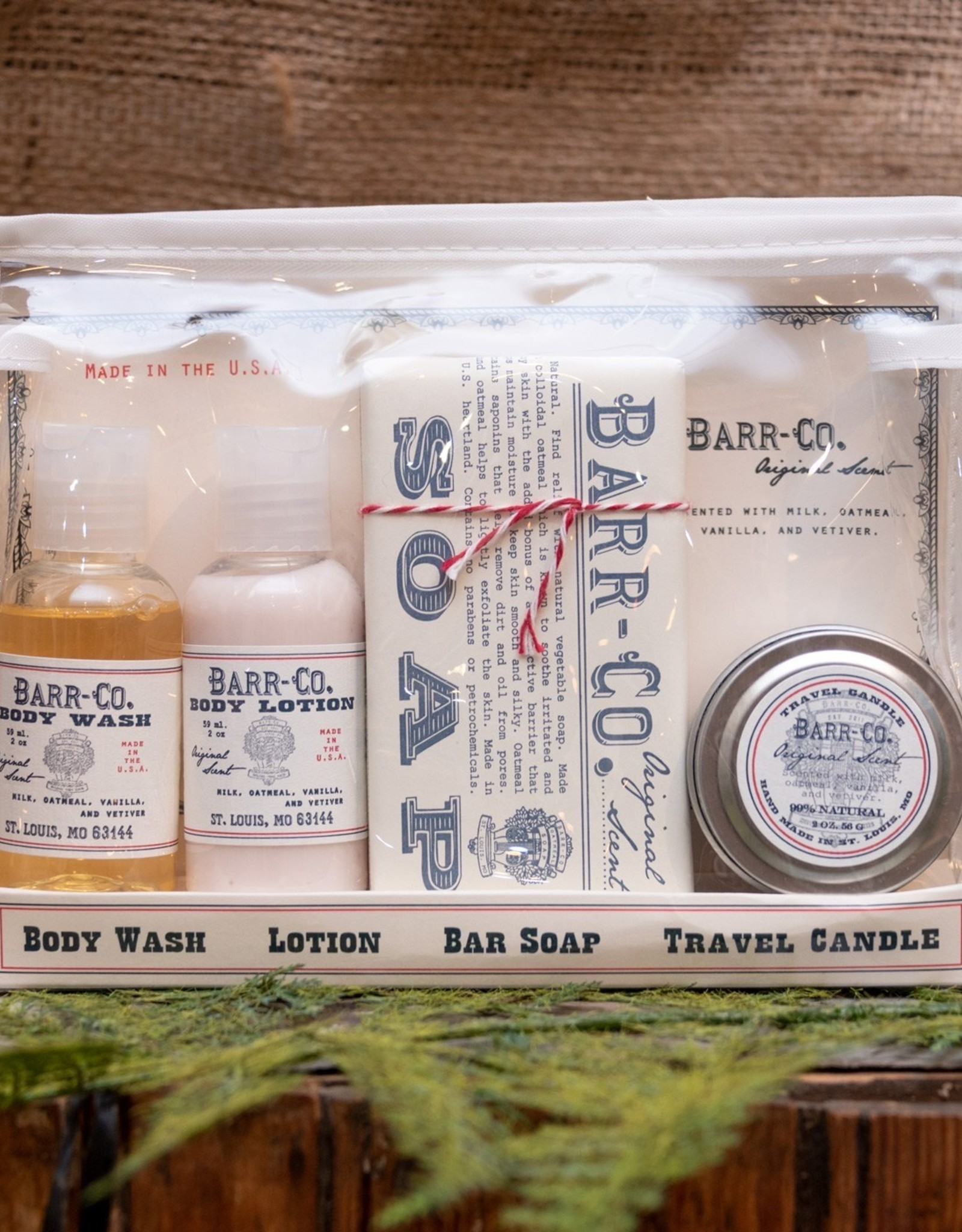 Barr-Co 4 PC Travel Gift Set