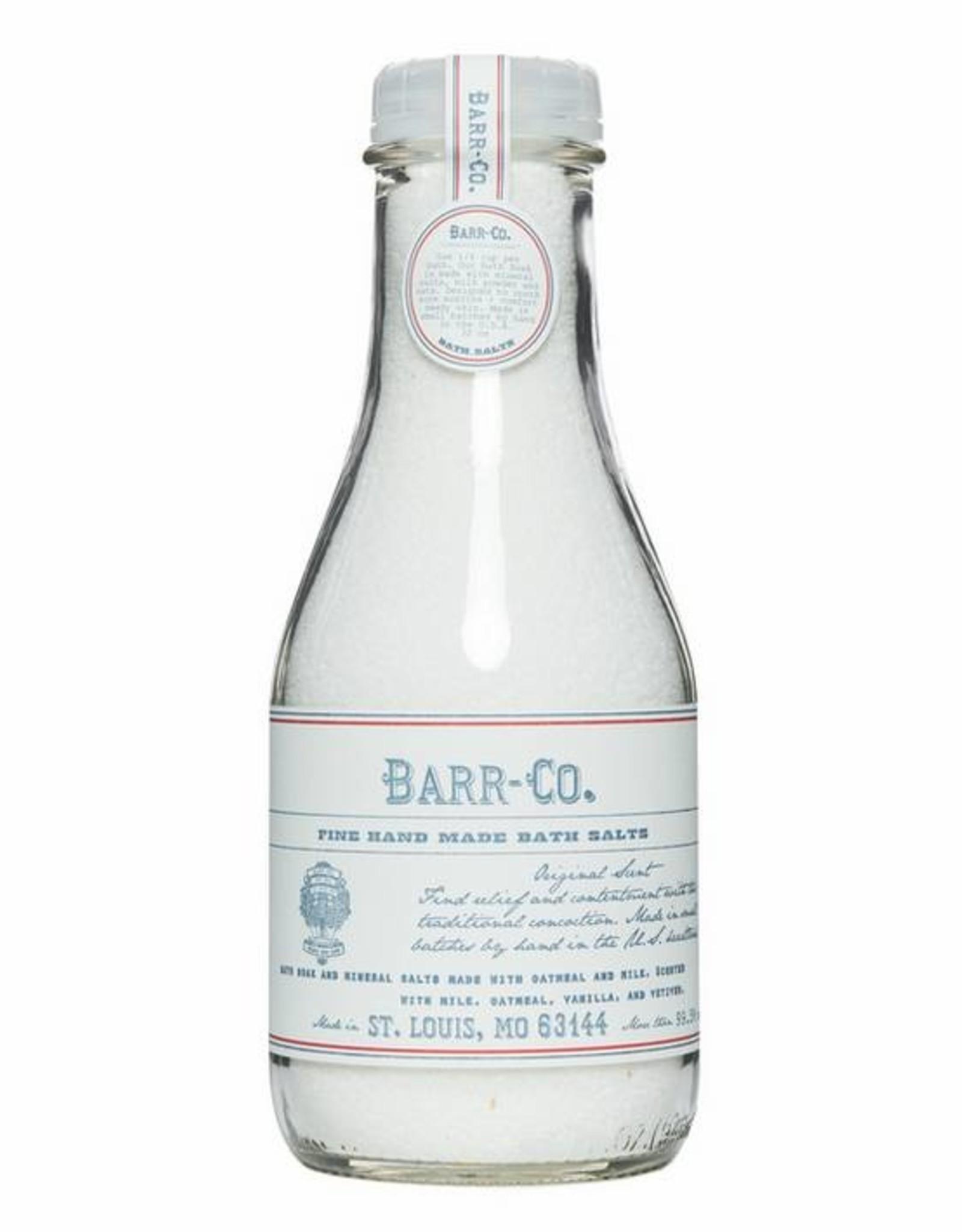 Barr-Co Bath Salt In Bottle Original Scent