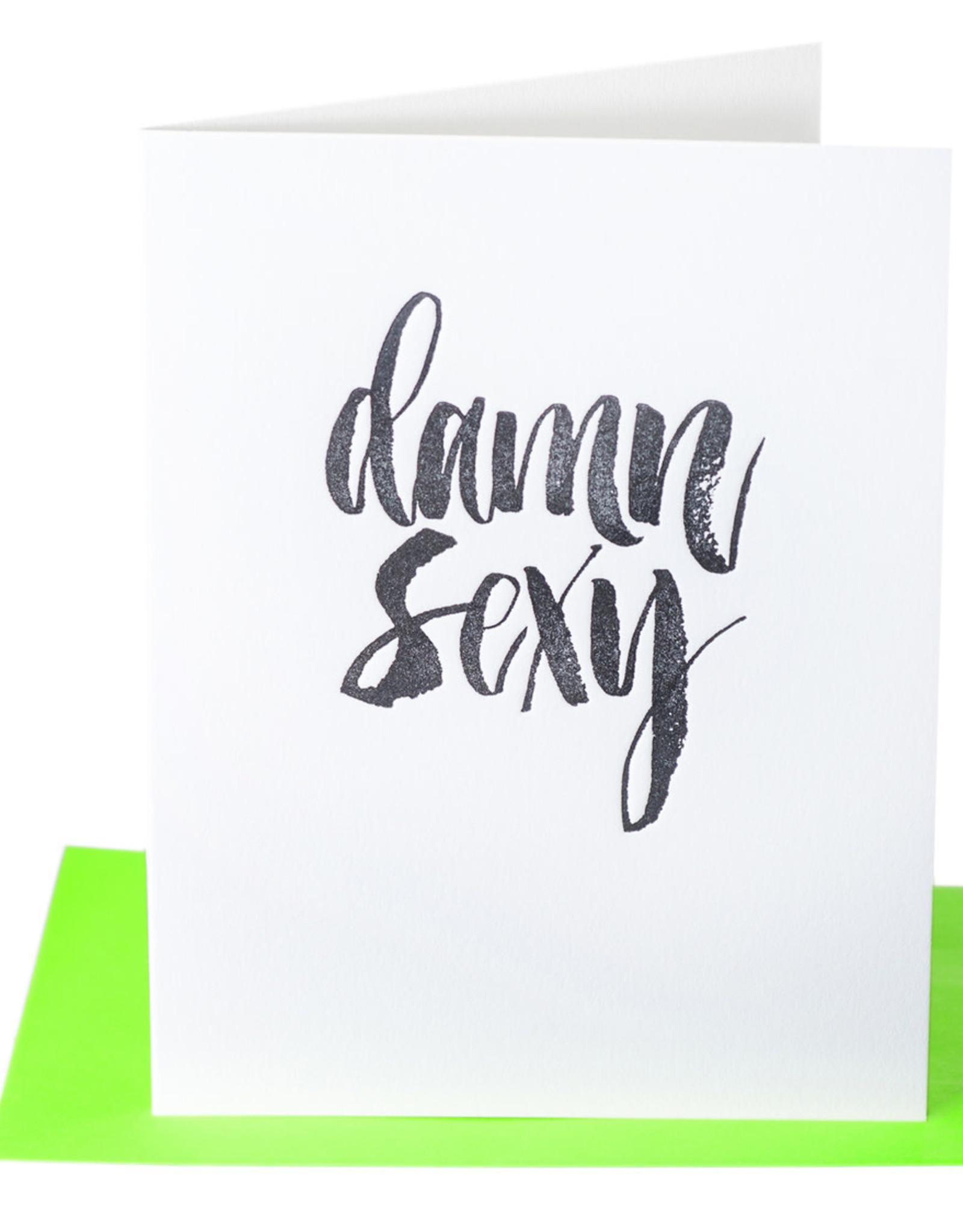 Paper Epiphanies Damn Sexy Card