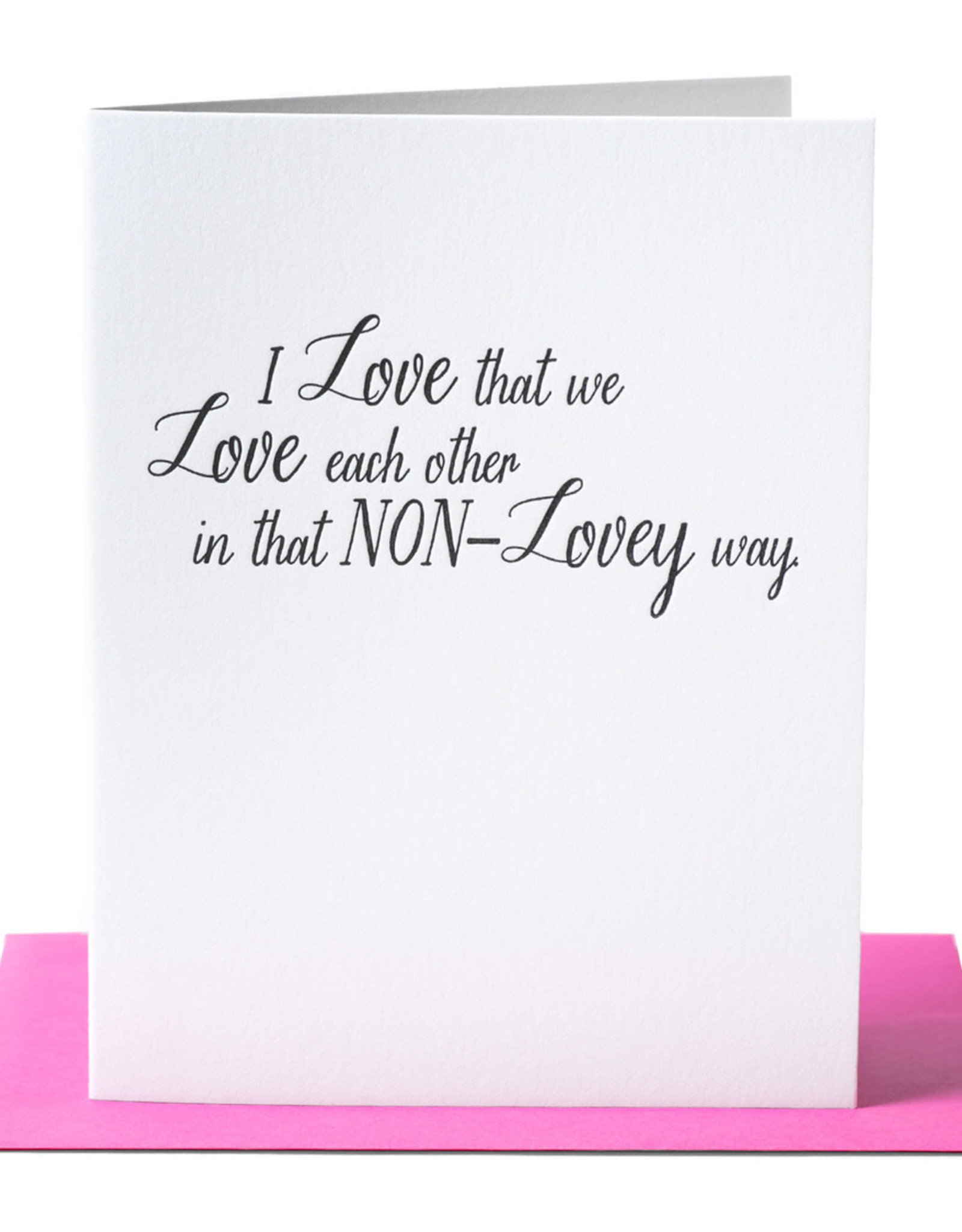 Paper Epiphanies I Love That We Love Each Card