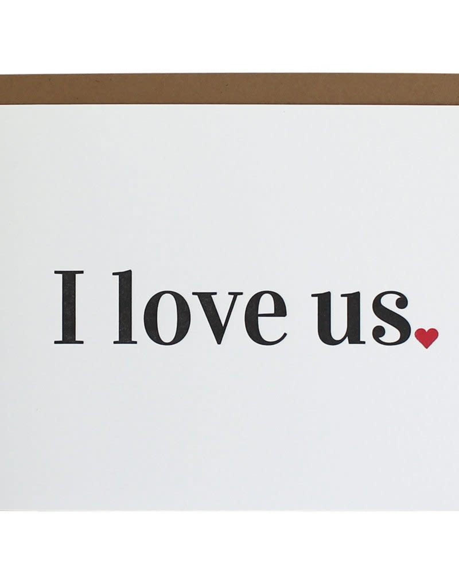 Chez Gagne I Love Us Card
