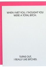 Chz-Ggn When I Met You, I Thought Card