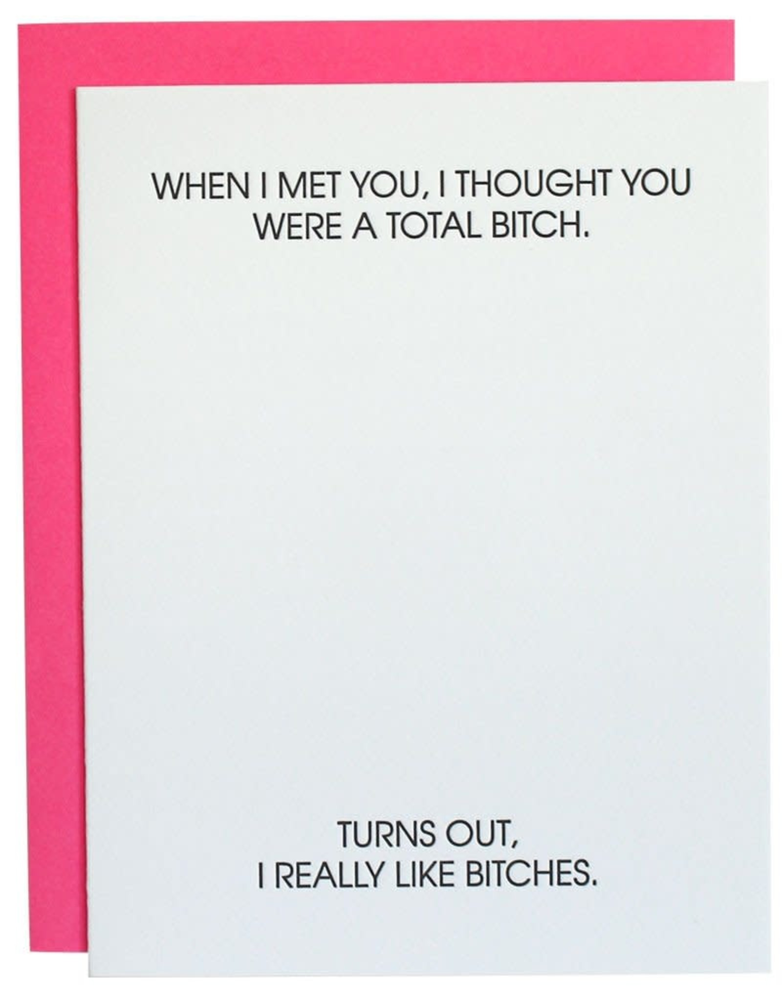 Chez Gagne When I Met You, I Thought Card