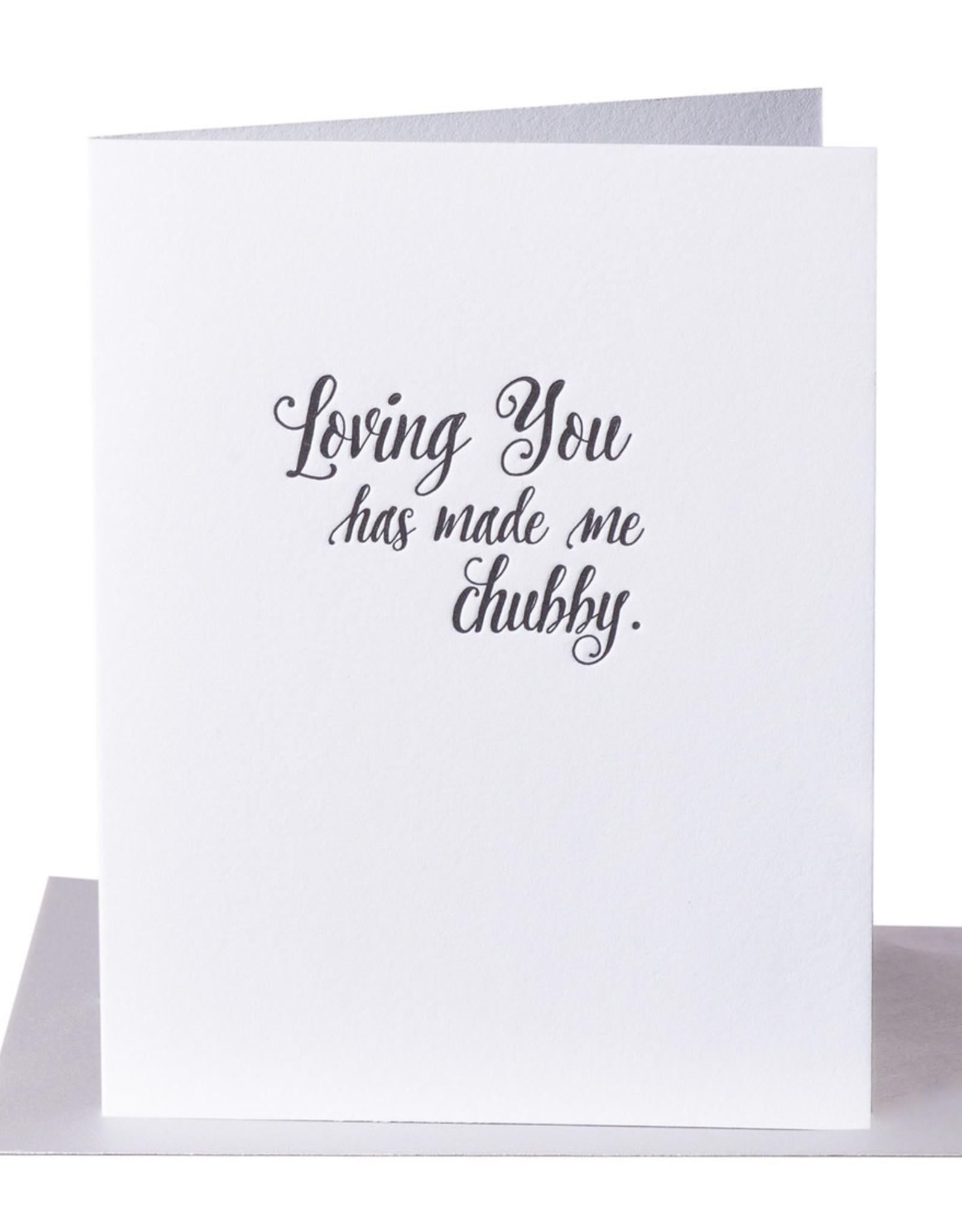 Pa-Epi Loving You Has Made Me Chubby Card