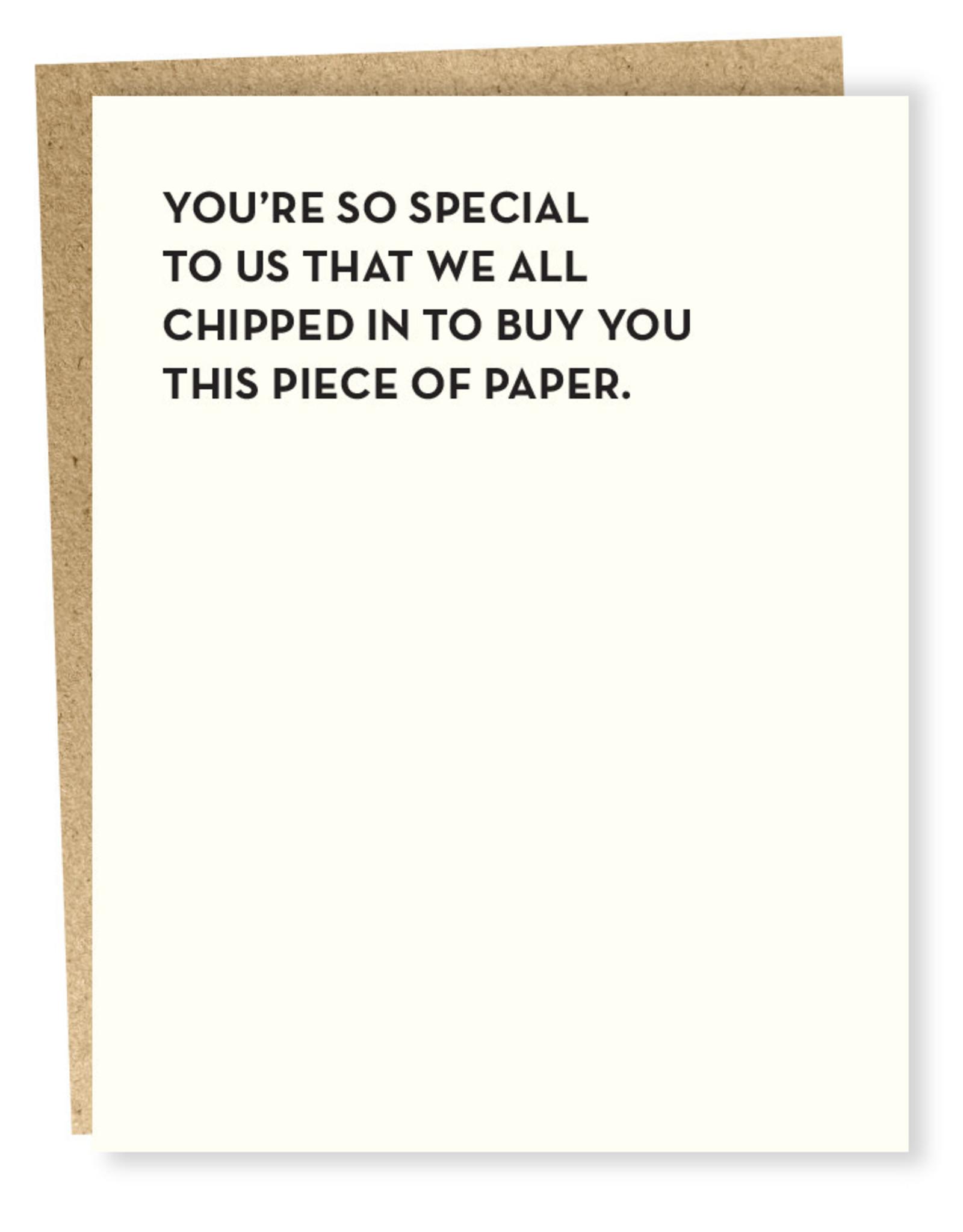 Sapling Press So Special Card
