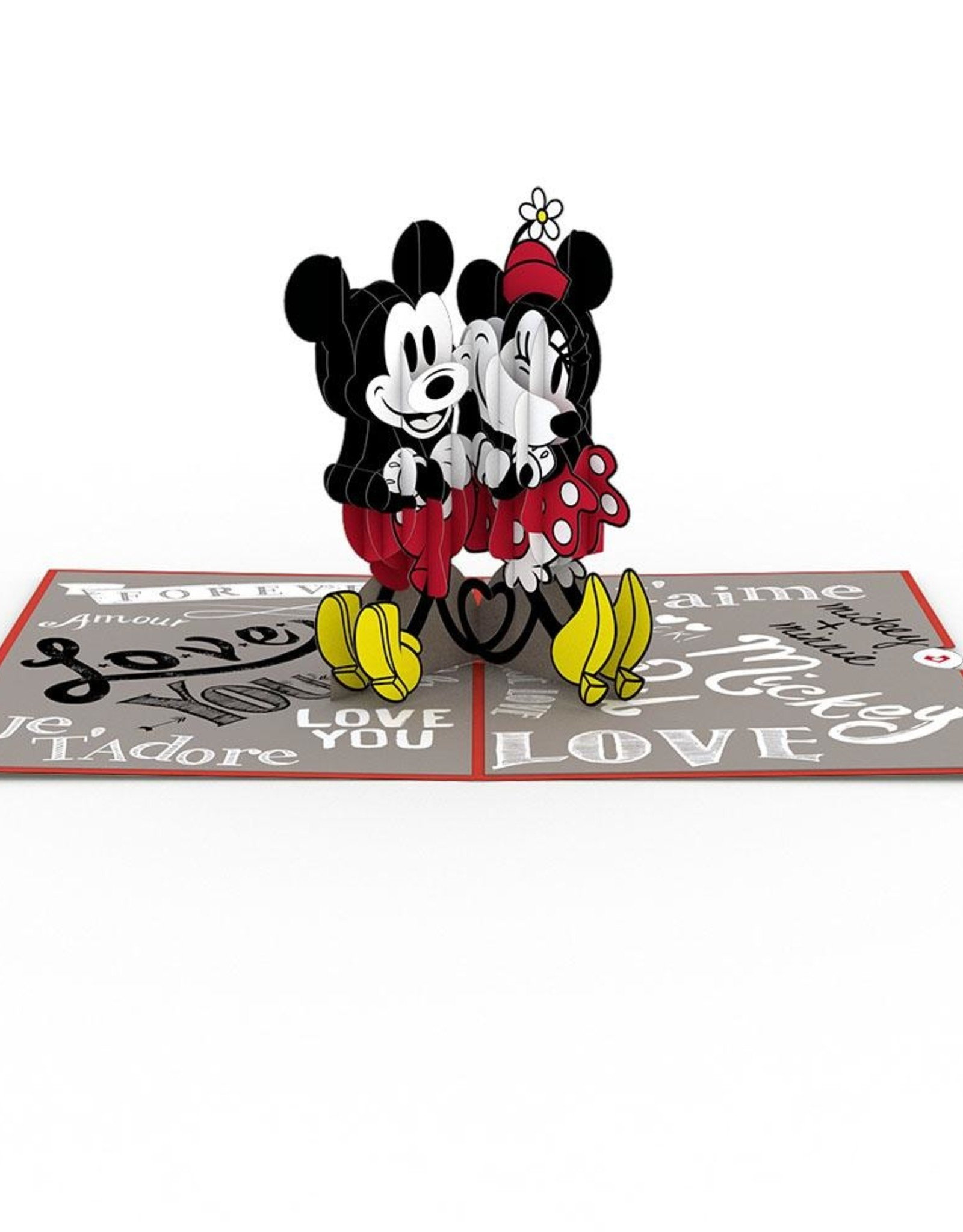LovePop Disneys Mickey And  Minnie Card