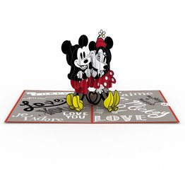 LovePop Disneys Mickey And  Minnie Card