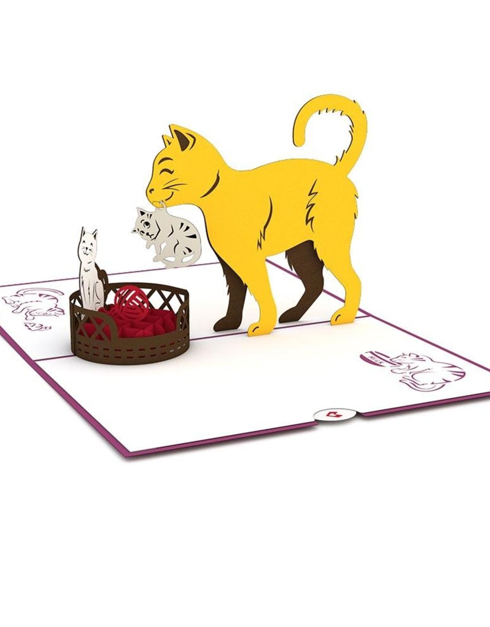 Lpop Cat Family Card