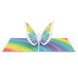 LovePop Rainbow Butterfly Card