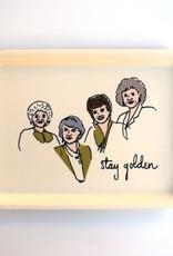 He Said, She Said Golden Girls Tray