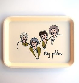 He Said, She Said Golden Girls Tray