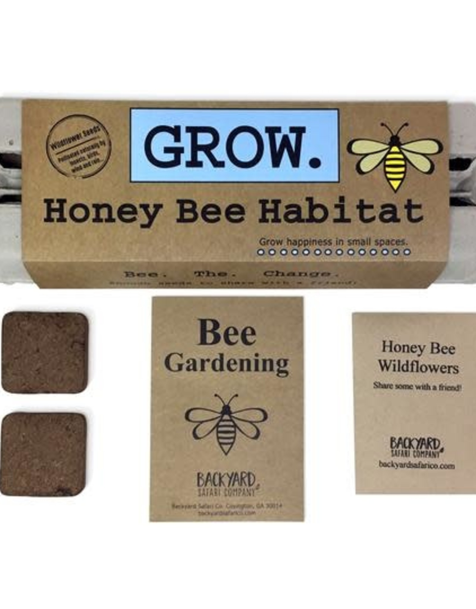 Backyard Safari Co Grow Honey Bee Habitat
