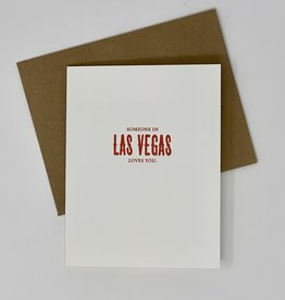 Sapling Press Someone In Las Vegas Loves You Card