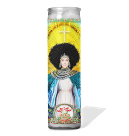 Calm Down Caren Cher Prayer Candle