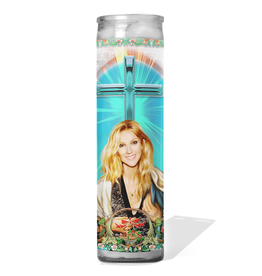 Calm Down Caren Celine Dion Prayer Candle