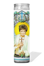 CDC Blanche Prayer Candle