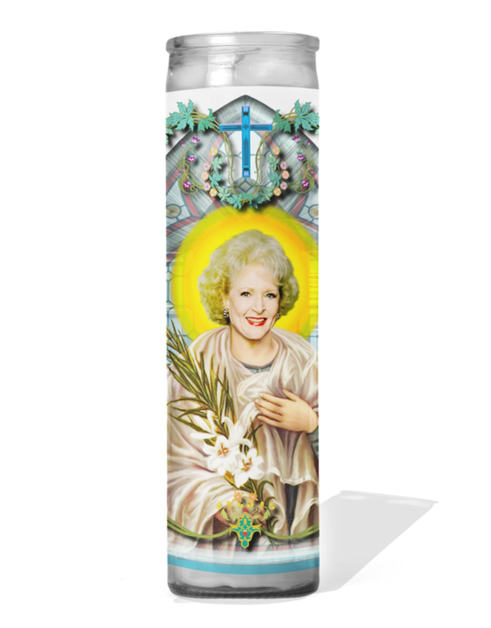 Calm Down Caren Rose Prayer Candle