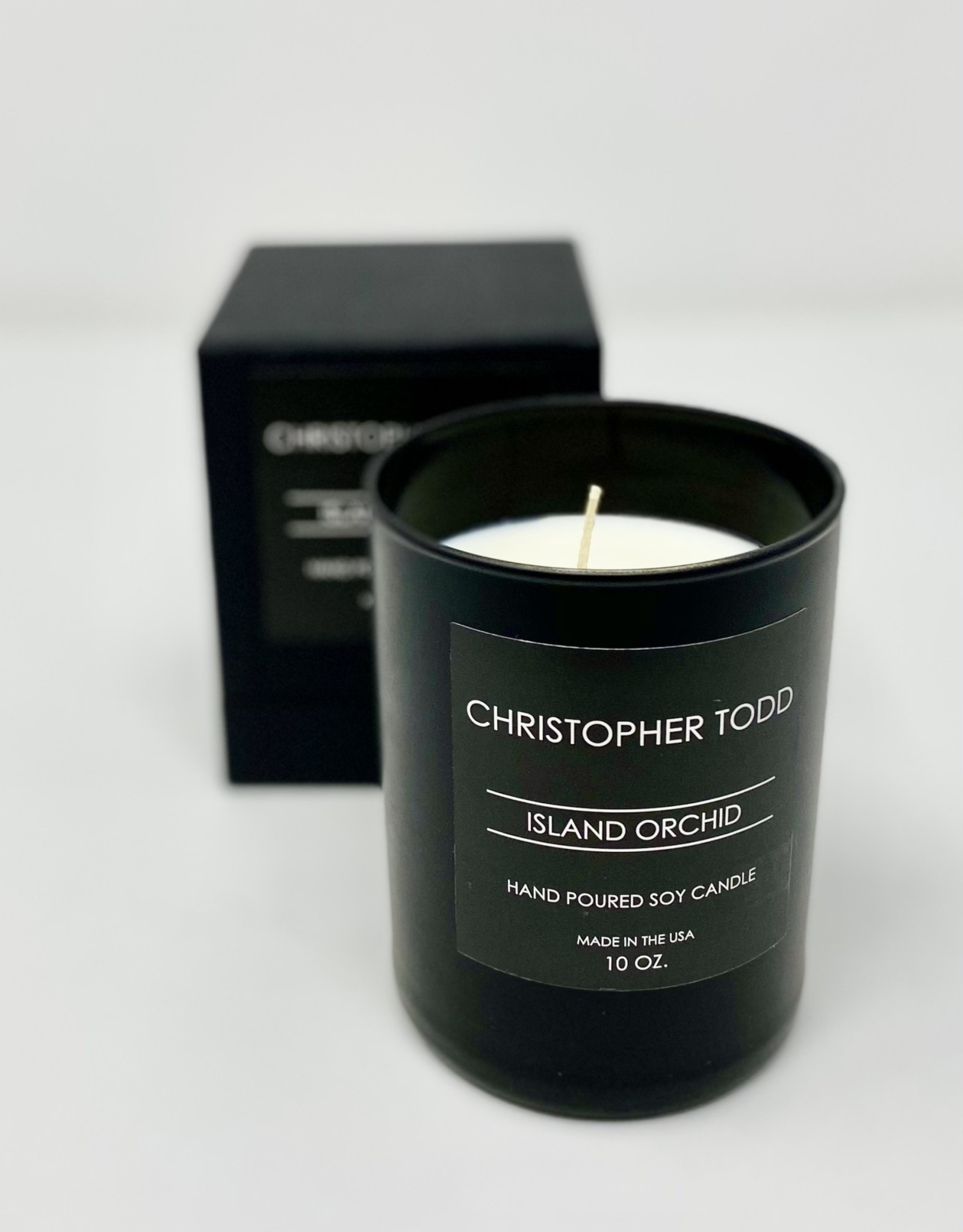 Greenmarket Purveying Co Island Orchid Christopher Todd Candle