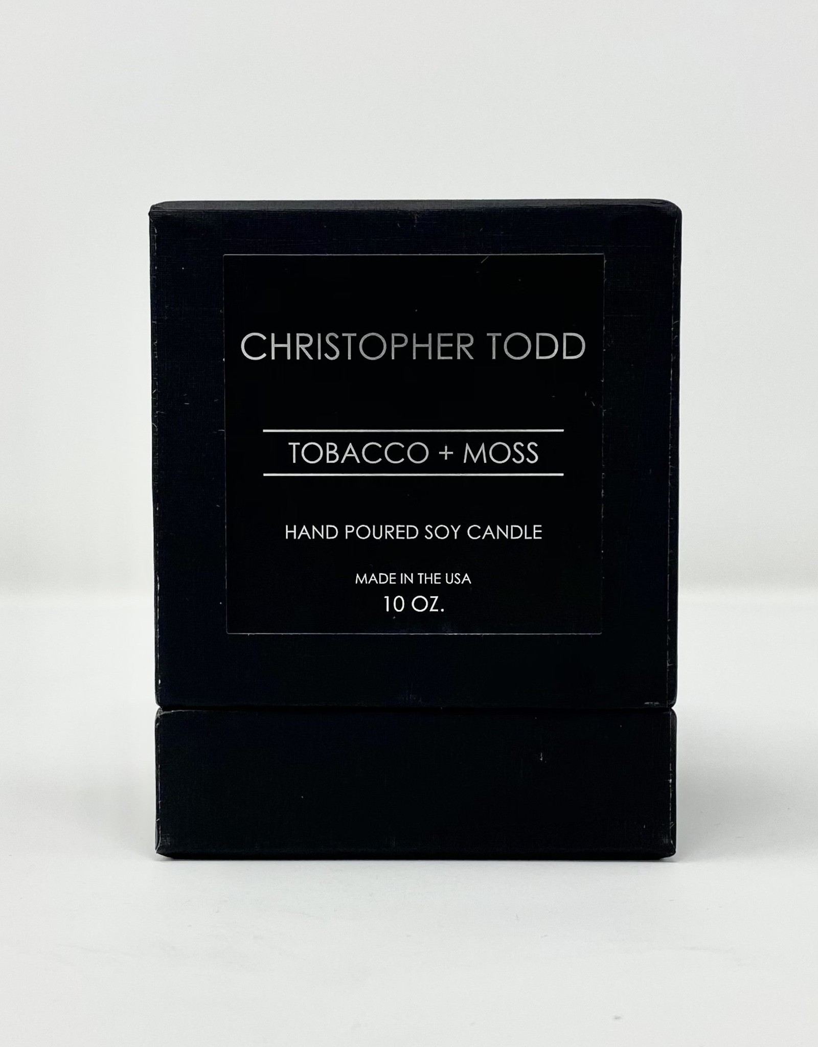 Greenmarket Purveying Co Tobacco + Moss Christopher Todd Candle