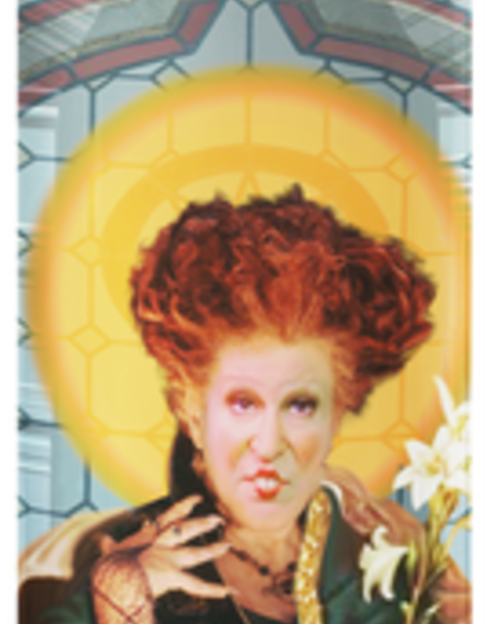 Calm Down Caren Hocus Pocus-Winifred Prayer Candle