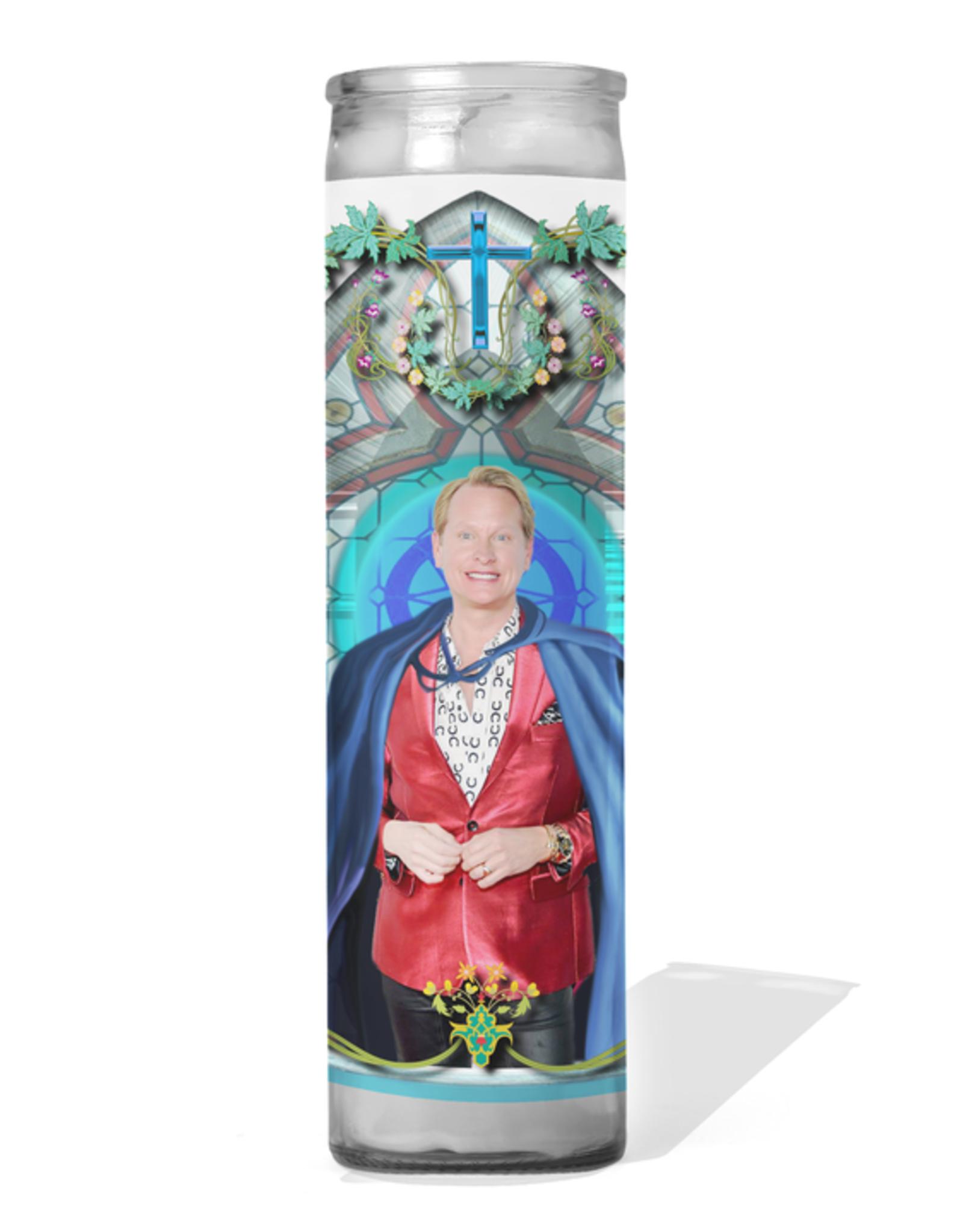 Calm Down Caren Carson Kressley Celebrity Prayer Candle