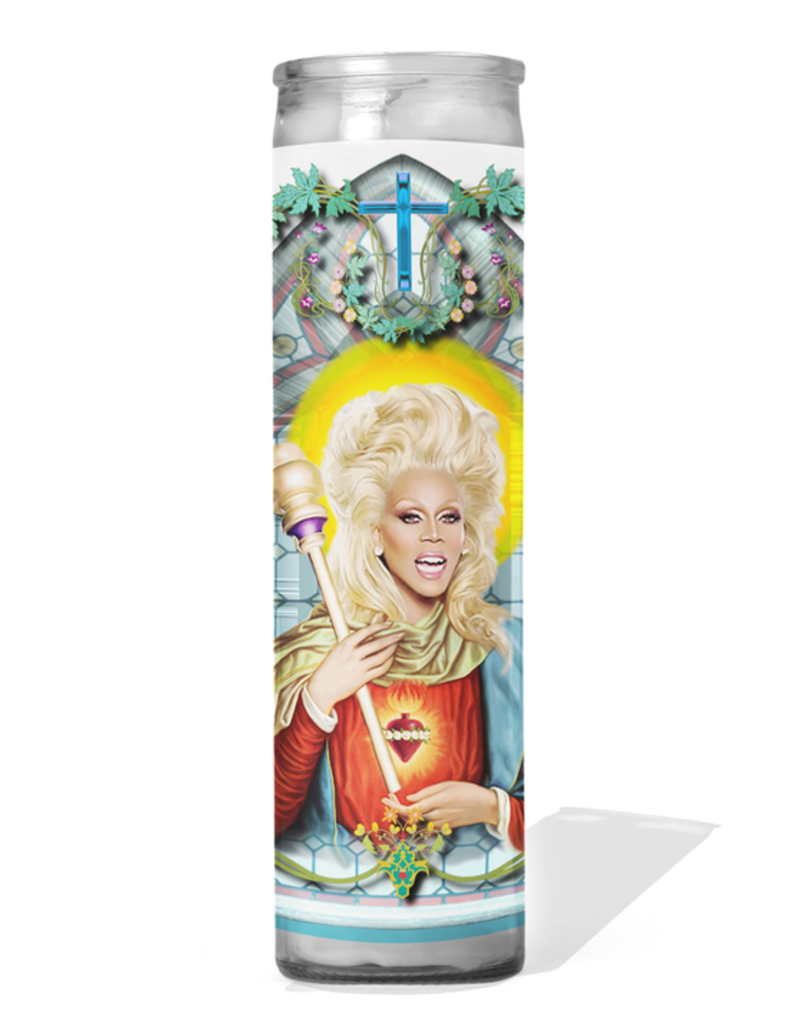 Calm Down Caren RuPaul Celebrity Prayer Candle