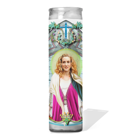 CDC Carrie Bradshaw Prayer Candle