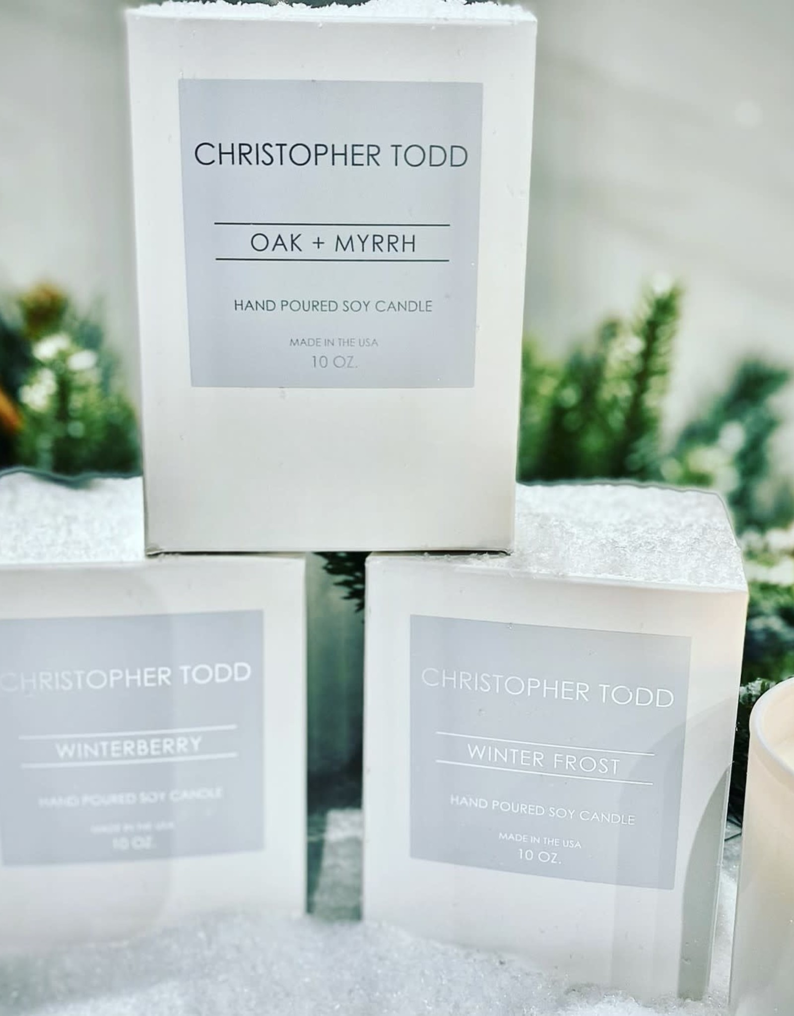 GP-Co Winterberry Christopher Todd Candle