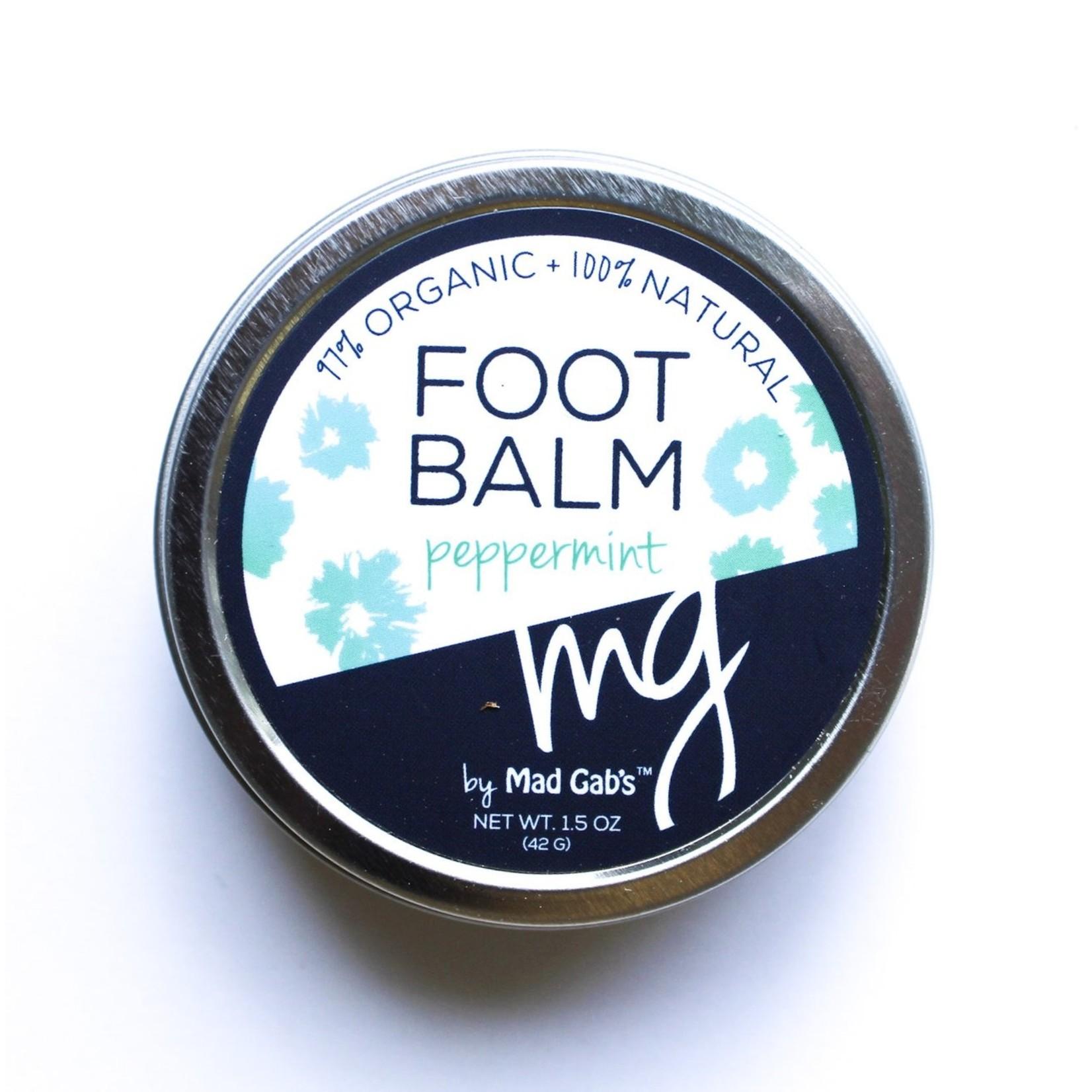 Mad Gab's Mad Gab's Peppermint Foot Balm