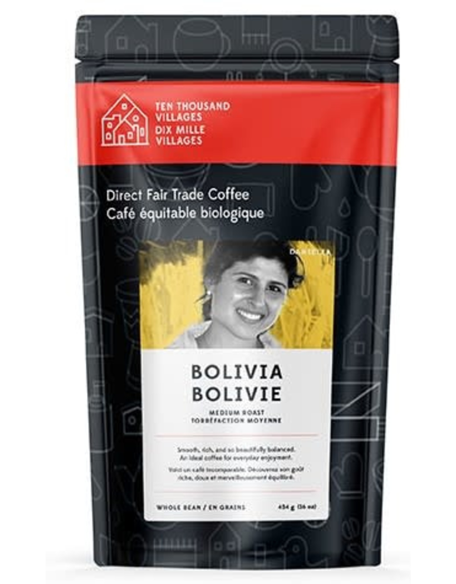 Level Ground Trading Bolivian Medium Roast Coffee (Beans)