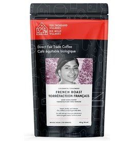 Level Ground Trading Colombian French Roast Coffee (Beans)