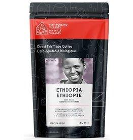 Level Ground Trading Ethiopian Dark Roast Coffee (Ground)