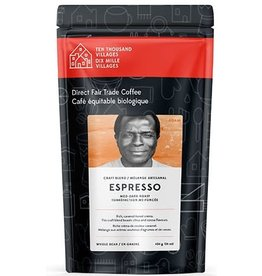 Level Ground Trading Medium - Dark Espresso Roast Coffee (Beans)