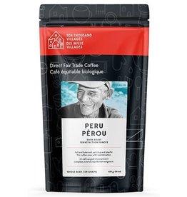 Level Ground Trading Peruvian Dark Roast Coffee (Beans)