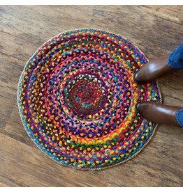 Matr Boomie Chindi Blend Rug, Circle