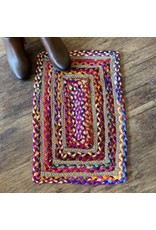 Matr Boomie Chindi Rectangle Doormat