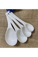 Ten Thousand Villages Speckled Measuring Spoon Set