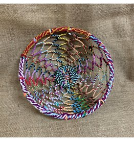 Ten Thousand Villages Multi-colour Woven Basket