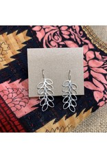 Ten Thousand Villages Leaf Dangle Earrings