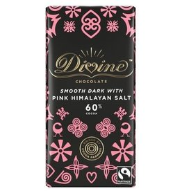 Divine Divine Dark Chocolate with Pink Himalayan Salt