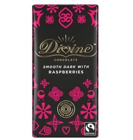 Divine Divine Dark Chocolate with Raspberries