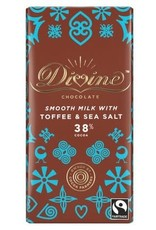 Divine Divine Milk Chocolate with Toffee and Sea Salt